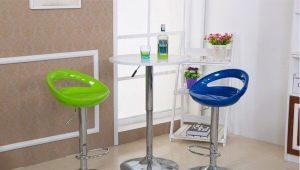 Как выбрать барный стул с регулируемой высотой?