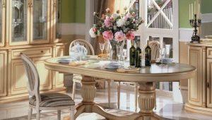 Как выбрать овальный стол?
