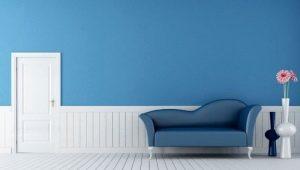 Как выбрать синие обои в комнату?