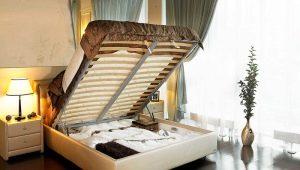 Кровати Askona с подъемным механизмом