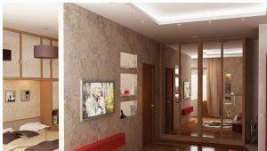 Однокомнатная квартира в различных стилях: примеры дизайна