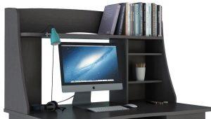 Все за и против большого компьютерного стола в интерьере