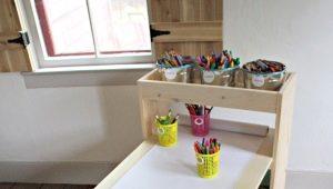 Выбираем деревянный детский стол