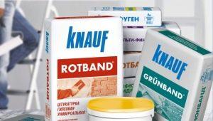 Финишная шпаклевка Knauf: плюсы и минусы