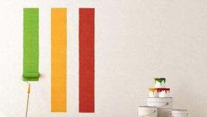 Как правильно красить стены валиком?