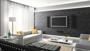 Красивые идеи оформления гостиной комнаты