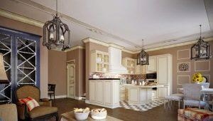 Кухня-гостиная в стиле «прованс»: уют и практичность в интерьере