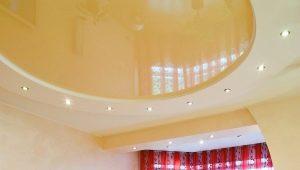 Натяжные потолки с гипсокартоном: тонкости сочетаний