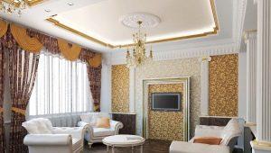 Оформляем гостиную в классическом стиле