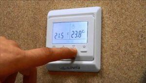 Особенности терморегуляторов для теплого пола