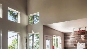 Примеры ремонта гостиной в частном доме