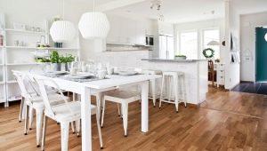 Создаем стильный интерьер кухни-гостиной