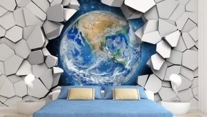 Стереоскопические 3D-обои для стен: модные идеи в интерьере