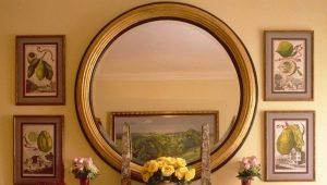 Зеркала в интерьере - стильное украшение в любую комнату