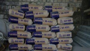 Цемент М400: состав и применение