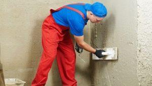 Цементная штукатурка: выбор и применение