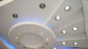 Фигурный потолок в дизайне интерьера