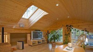 Как сделать потолок в частном доме своими руками?
