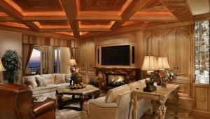 Кессонный потолок: красивые варианты отделки интерьера