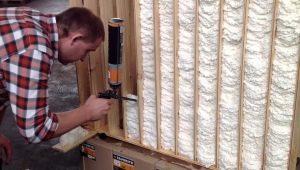 Можно ли утеплить дом с помощью монтажной пены?