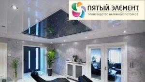 Натяжные потолки «Пятый элемент»: особенности и характеристики