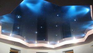 Оригинальные идеи дизайна одноуровневых натяжных потолков