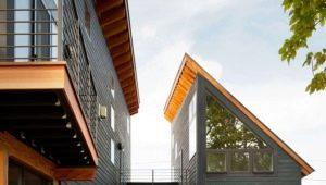 Оригинальные проекты деревянных домов с мансардой