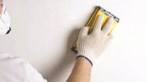 Ошкуривание стен после шпаклевки: технология выполнения ремонтных работ