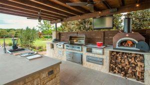 Особенности оформления летней кухни