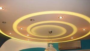 Особенности установки светильников в гипсокартон
