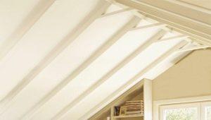 Потолок мансарды: выбор материала и дизайн