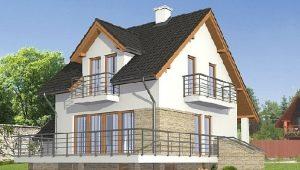 Проекты домов с цокольным этажом и мансардой