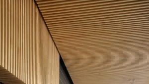 Реечные потолки в дизайне интерьера
