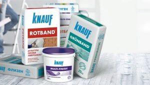 Шпаклевка Knauf: обзор видов и их характеристики