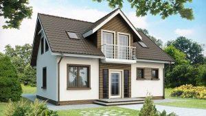 Тонкости планировки дома размером 6 на 9 с мансардой