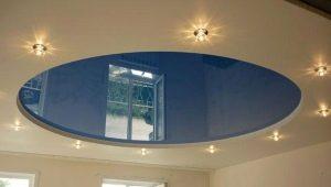 Зеркальные натяжные потолки: преимущества и недостатки