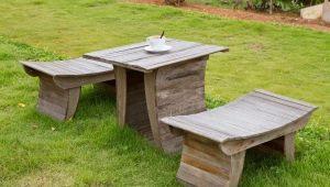 Дизайнерская садовая мебель: авторские идеи для вашей дачи