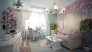 Фотообои в интерьере гостиной: оригинальные идеи дизайна