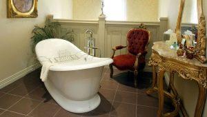 Какой может быть ширина ванны?