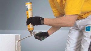 Клей для газобетонных блоков: виды и применение