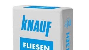 Клей Knauf: виды и характеристики