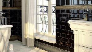 Особенности плитки «кабанчик» для ванной