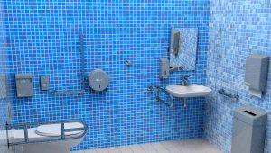 Рекомендации по выбору поручней для инвалидов в ванную комнату и туалет