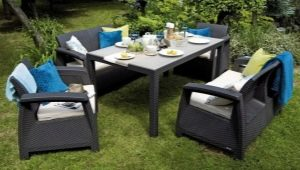 Садовая мебель из искусственного ротанга: плюсы и минусы