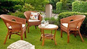 Садовая мебель: стильные уличные комплекты