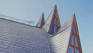 Сланцевая кровля: особенности элитных материалов для покрытия крыши