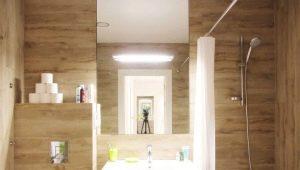 Ванная под дерево: природная красота и уют в дизайне комнаты