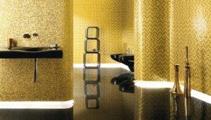 Золотая мозаика в интерьере