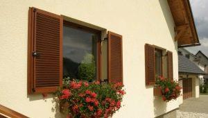 Деревянные ставни на окна: традиционные конструкции в современном оформлении дома