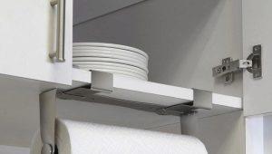 Держатели для бумажных полотенец: практичность и удобство
